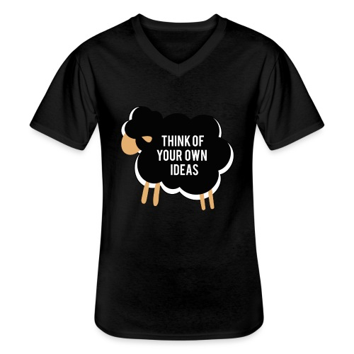 Think of your own idea! - Men's V-Neck T-Shirt