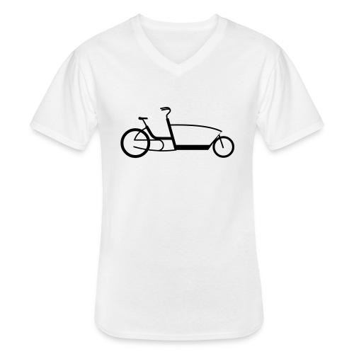 The Urban Arrow - Klassisches Männer-T-Shirt mit V-Ausschnitt