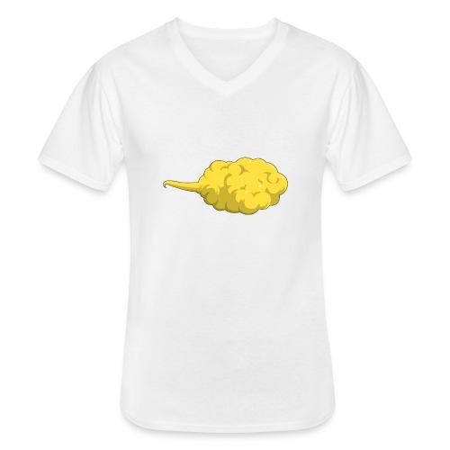 Nuage magique - T-shirt classique col V Homme