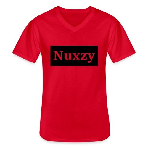 Nuxzy sweatshirt - Klassisk herre T-shirt med V-udskæring