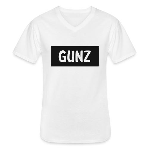 Gunz - Klassisk herre T-shirt med V-udskæring