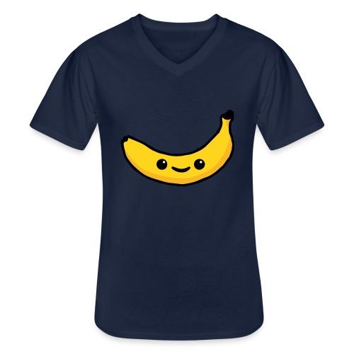 Alles Banane! - Klassisches Männer-T-Shirt mit V-Ausschnitt