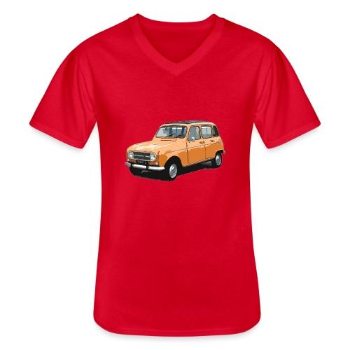 My Fashion 4l - T-shirt classique col V Homme