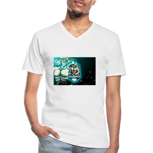 8251831F EA3A 4726 A475 A5510CDECB5A - Klassisk T-shirt med V-ringning herr