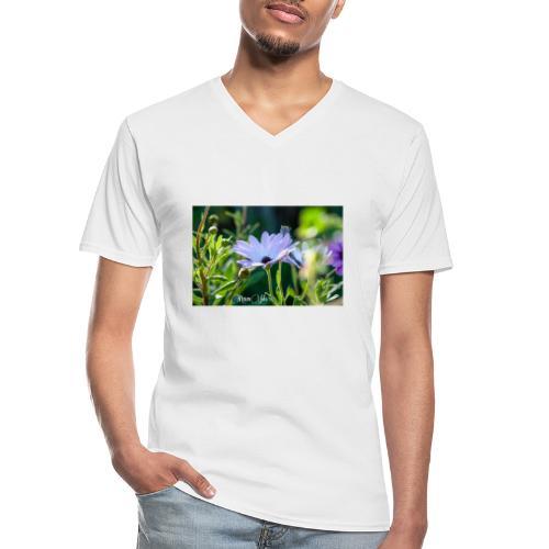 Dimorfoteca - Camiseta clásica con cuello de pico hombre