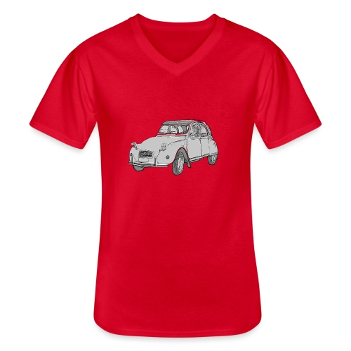 Ma Deuch est fantastique - T-shirt classique col V Homme