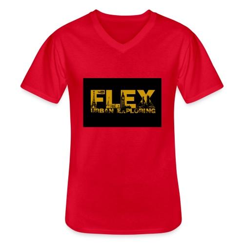 FlexUrban - Men's V-Neck T-Shirt
