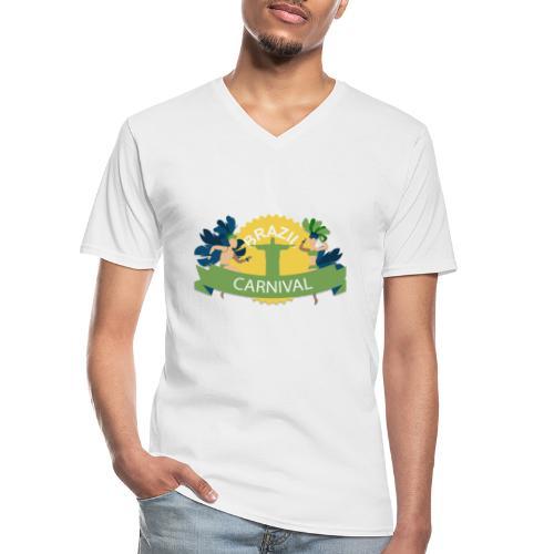 Encontro Carnaval Rio de janeiro - Men's V-Neck T-Shirt