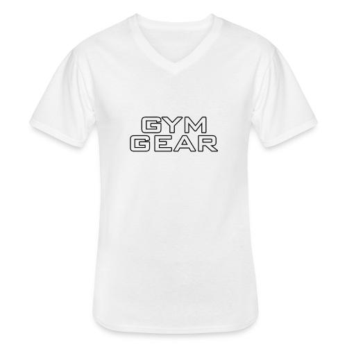 Gym GeaR - Men's V-Neck T-Shirt