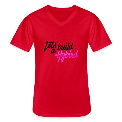 Lets Build A hybrid - Men's V-Neck T-Shirt