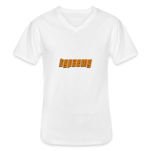 TypArmy - Hoodie - Klassisches Männer-T-Shirt mit V-Ausschnitt