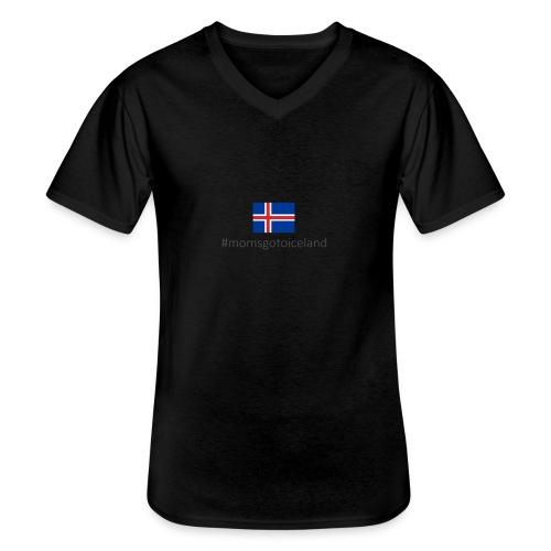Iceland - Men's V-Neck T-Shirt