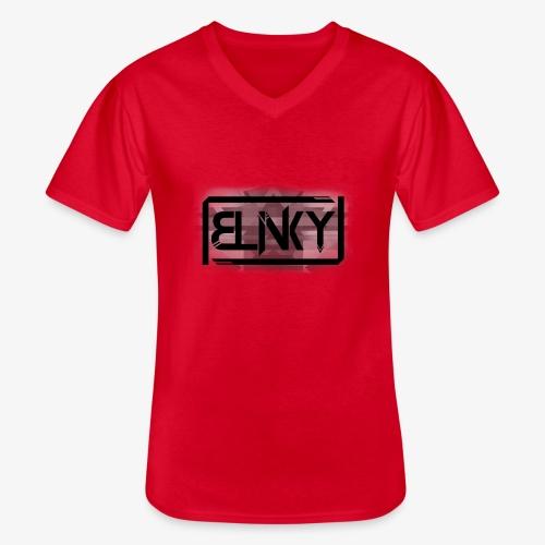 Blinky Compact Logo - Men's V-Neck T-Shirt