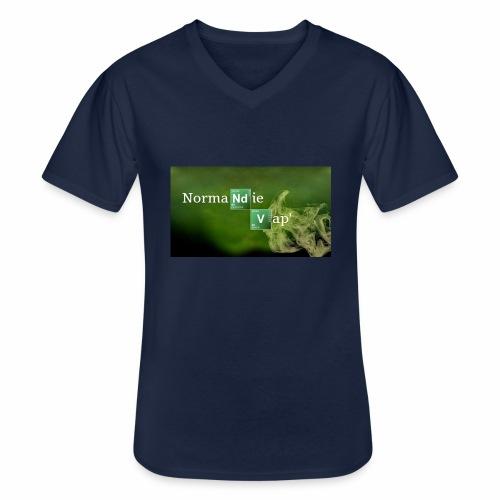 Normandie Vap' - T-shirt classique col V Homme
