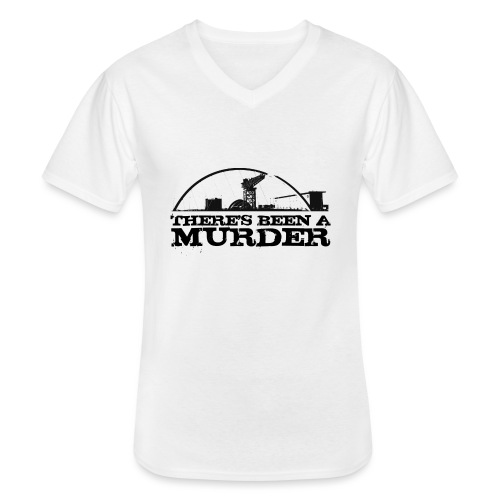 There s Been A Murder - Men's V-Neck T-Shirt