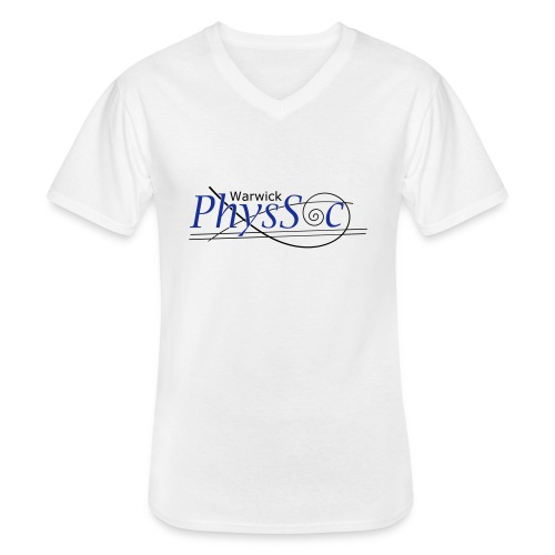 Official Warwick PhysSoc T Shirt - Men's V-Neck T-Shirt