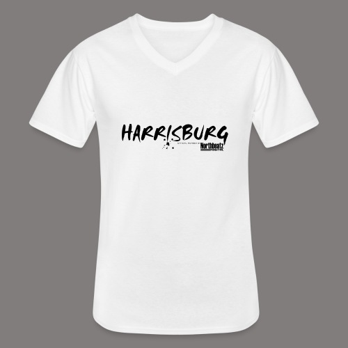Harrisburg Member of Northbeatz Digital - Klassisches Männer-T-Shirt mit V-Ausschnitt