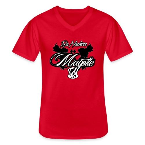 RA HACHIRI - T-shirt classique col V Homme