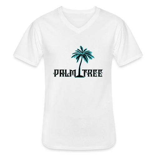 PALMTREE PALMERA STREETWEAR - Camiseta clásica con cuello de pico hombre