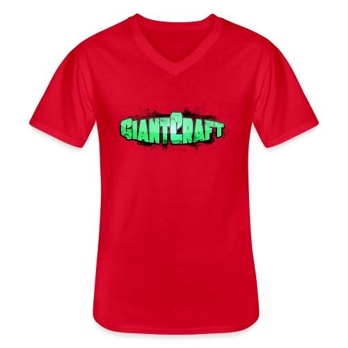 Vandflaske - GiantCraft - Klassisk herre T-shirt med V-udskæring