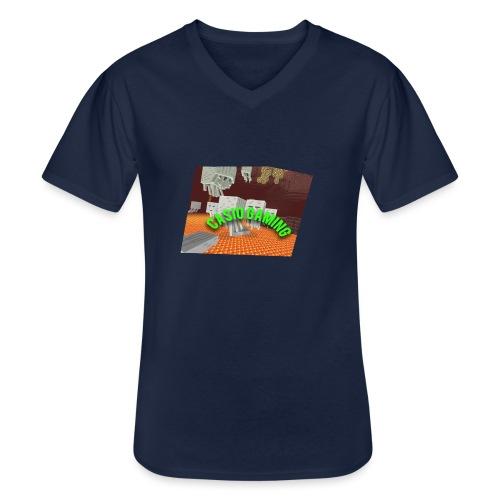 Logopit 1513697297360 - Klassiek mannen T-shirt met V-hals