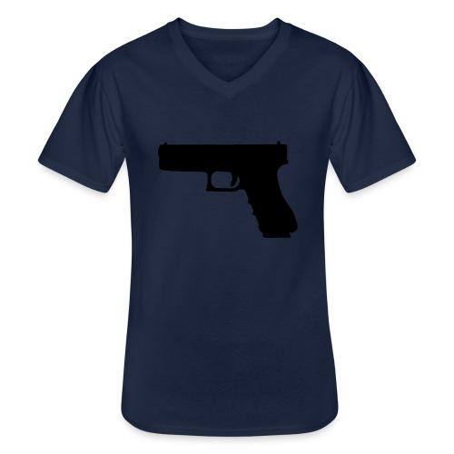The Glock 2.0 - Men's V-Neck T-Shirt