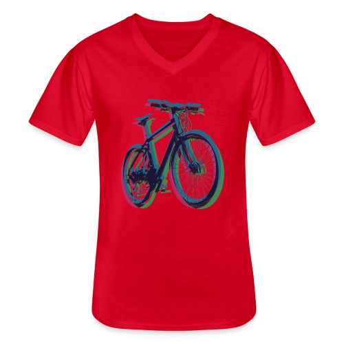 Bike Fahrrad bicycle Outdoor Fun Mountainbike - Men's V-Neck T-Shirt