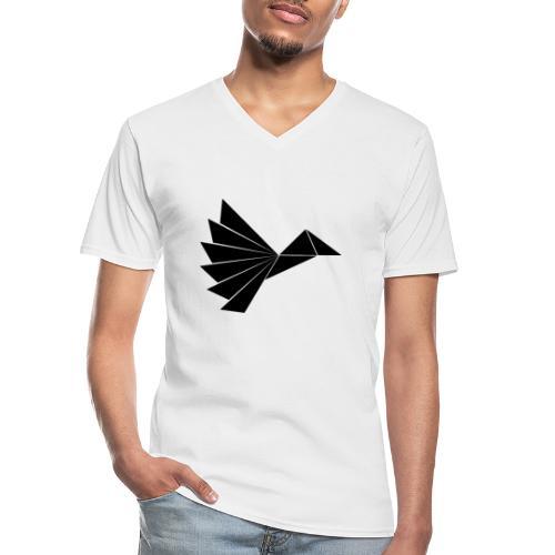 Noble Black Crow - Klassisk herre T-shirt med V-udskæring