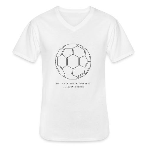 FULLEREN - Klassisches Männer-T-Shirt mit V-Ausschnitt