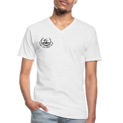 logo på brystet - Klassisk herre T-shirt med V-udskæring