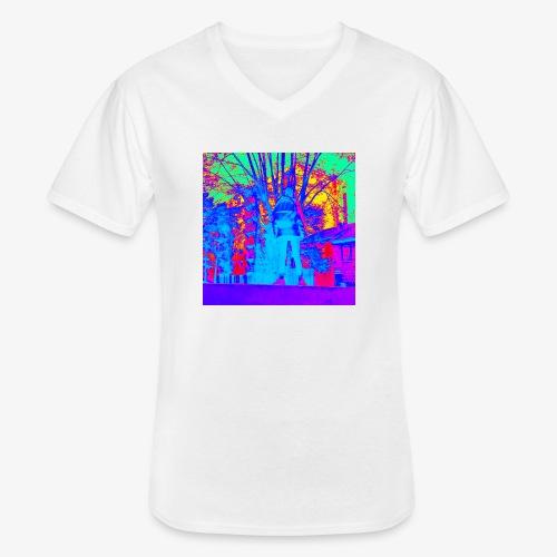 Tee shirt Gwen chap - T-shirt classique col V Homme