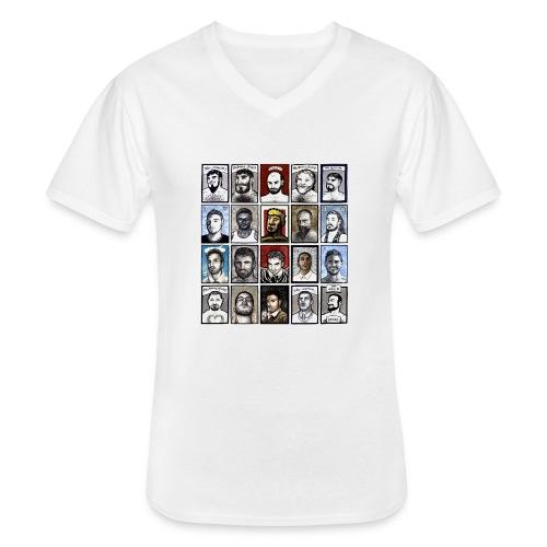 ACEO - Maglietta da uomo classica con scollo a V