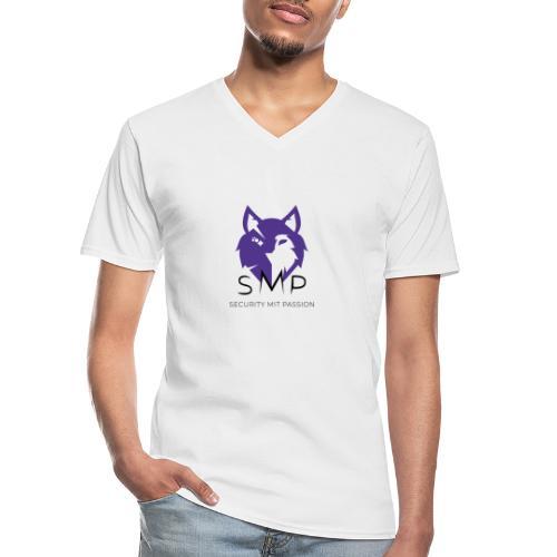SMP Wolves Merchandise - Klassisches Männer-T-Shirt mit V-Ausschnitt