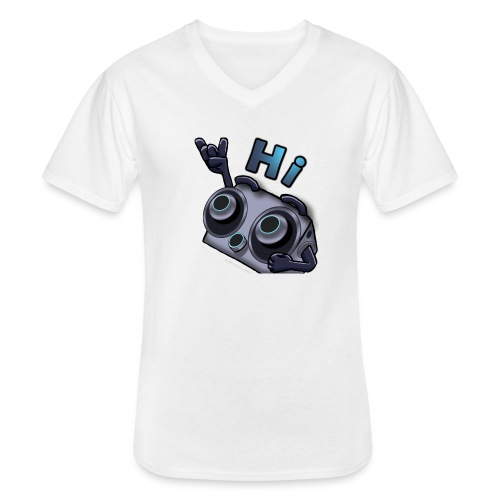 The DTS51 emote1 - Klassiek mannen T-shirt met V-hals
