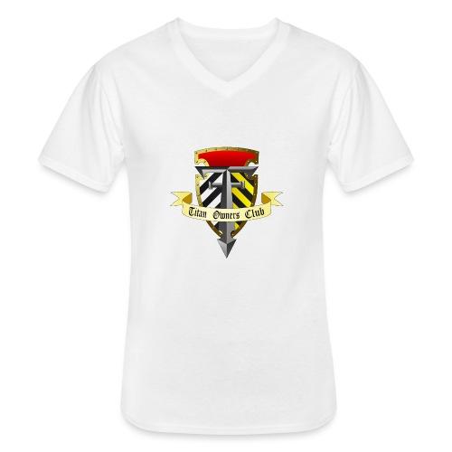 TOC Gothic Clear Background 1 - Men's V-Neck T-Shirt