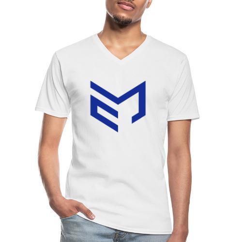RacingPrincipal - logo - Klassisk T-shirt med V-ringning herr
