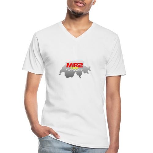 Logo MR2 Club Logo - Klassisches Männer-T-Shirt mit V-Ausschnitt