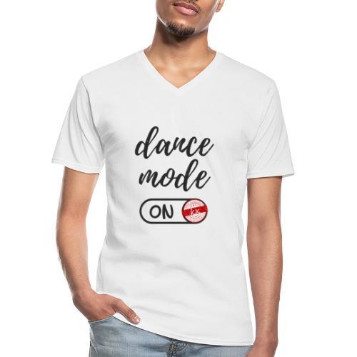 Shirt dance mode schw - Klassisches Männer-T-Shirt mit V-Ausschnitt