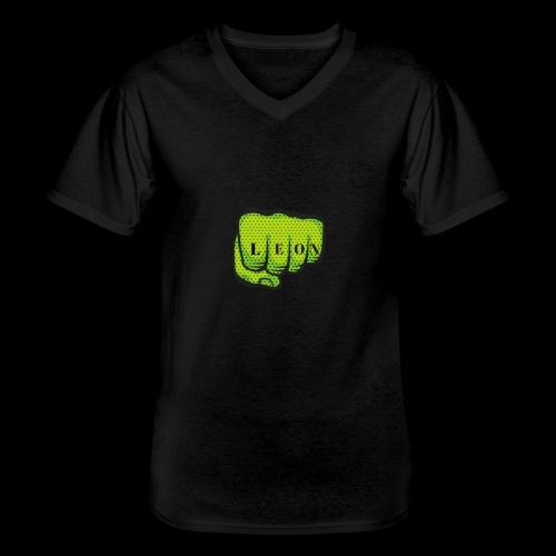 Leon Fist Merchandise - Men's V-Neck T-Shirt