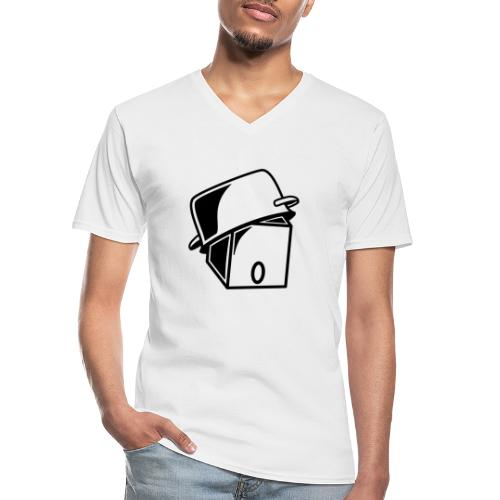 Pot Head - Klassisk herre T-shirt med V-udskæring