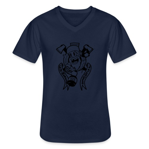 Lumber Jacques - T-shirt classique col V Homme