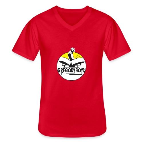 INTRODUKTION ELEKTRO STEELPANIST GREGORY BOYD - Klassisk herre T-shirt med V-udskæring
