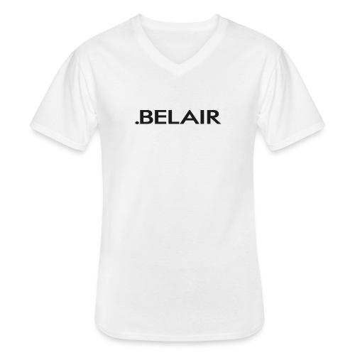 BELAIR ( X X ) - Klassisches Männer-T-Shirt mit V-Ausschnitt
