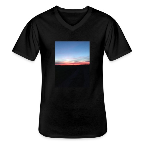 late night cycle - Men's V-Neck T-Shirt