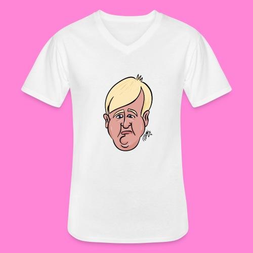 Donald - Klassiek mannen T-shirt met V-hals