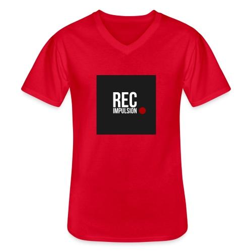 REC - T-shirt classique col V Homme