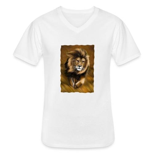Il vento della savana - Maglietta da uomo classica con scollo a V