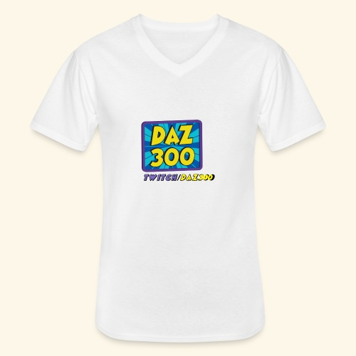 daz logo 2 0 - Men's V-Neck T-Shirt