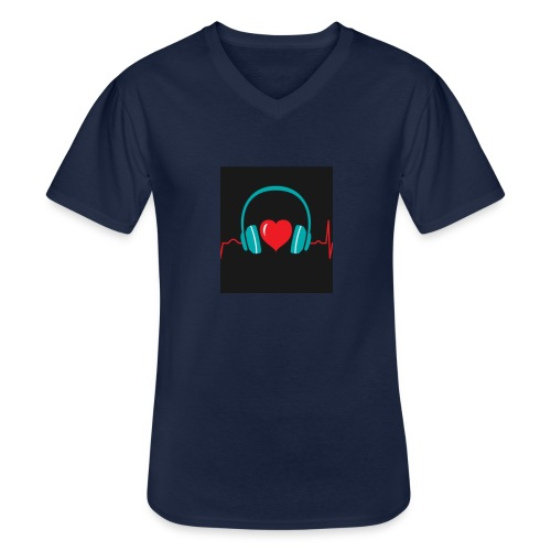 Victoria Sowinska - Men's V-Neck T-Shirt