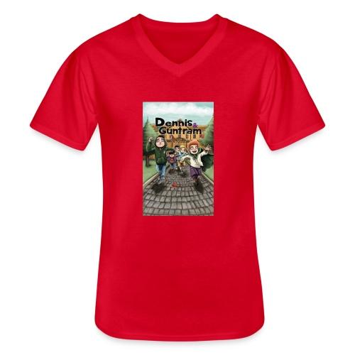DuG-Band1-Kurztitel - Klassisches Männer-T-Shirt mit V-Ausschnitt